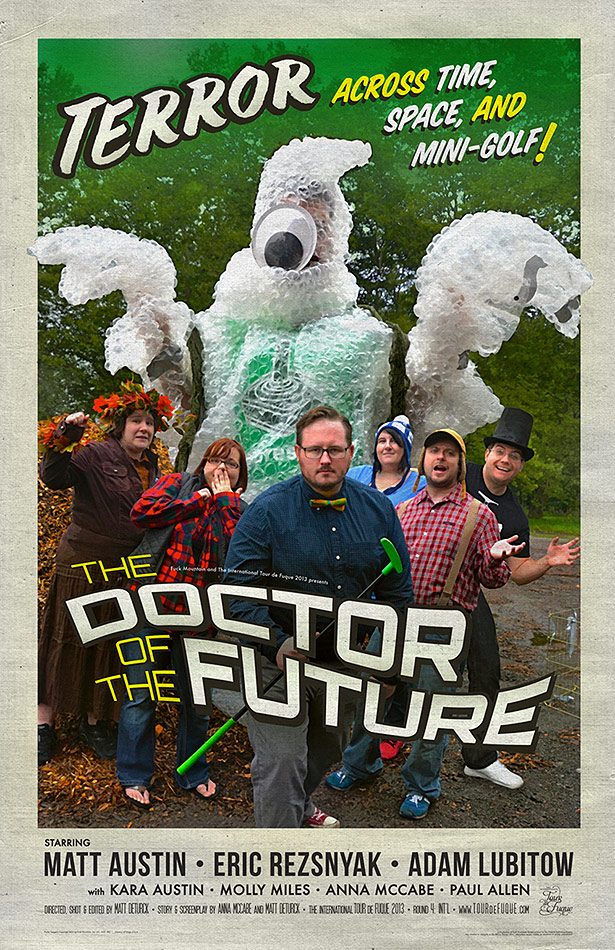 """The Doctor of the Future"" poster"